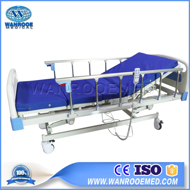 BAE303 Hospital Adjustable 3 Functions Electric Medical Patient Care Bed