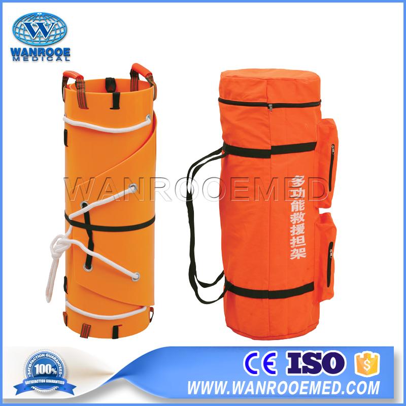 Medical Rescue Stretcher, Emergency Stretcher, Rolled Rescue Stretcher, Helicopter Rescue Stretcher