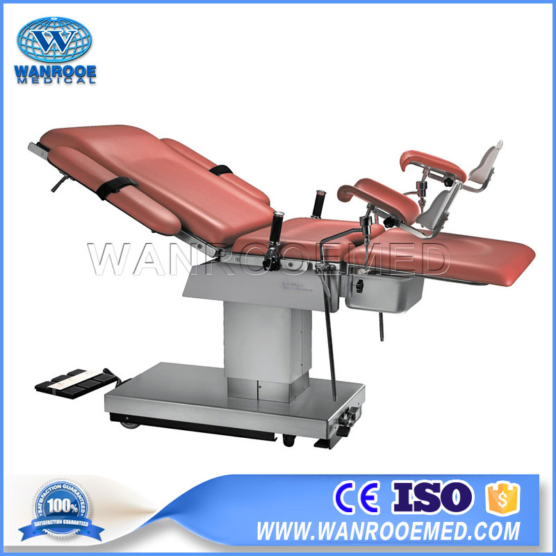 AOT400B Medical Electric Delivery Operating Table Gynecological Examination Table With Battery