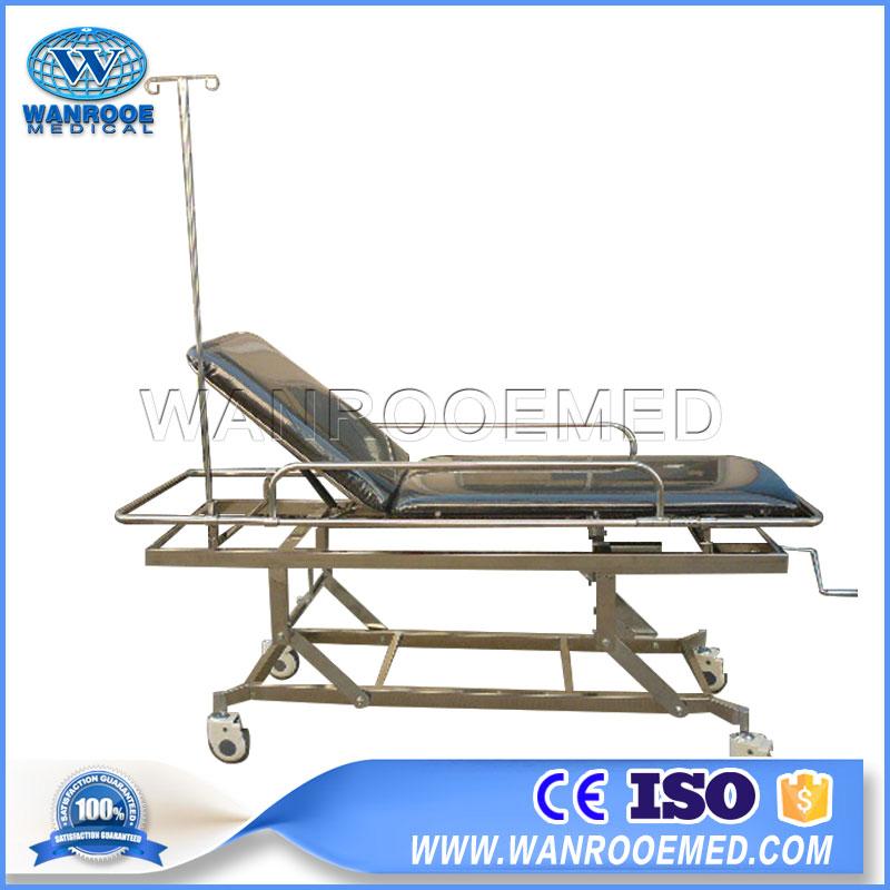 Ambulance Stretcher, Emergency Ambulance Stretcher, Hospital Stretcher, Transfer Stretcher, Stainless Steel Stretcher