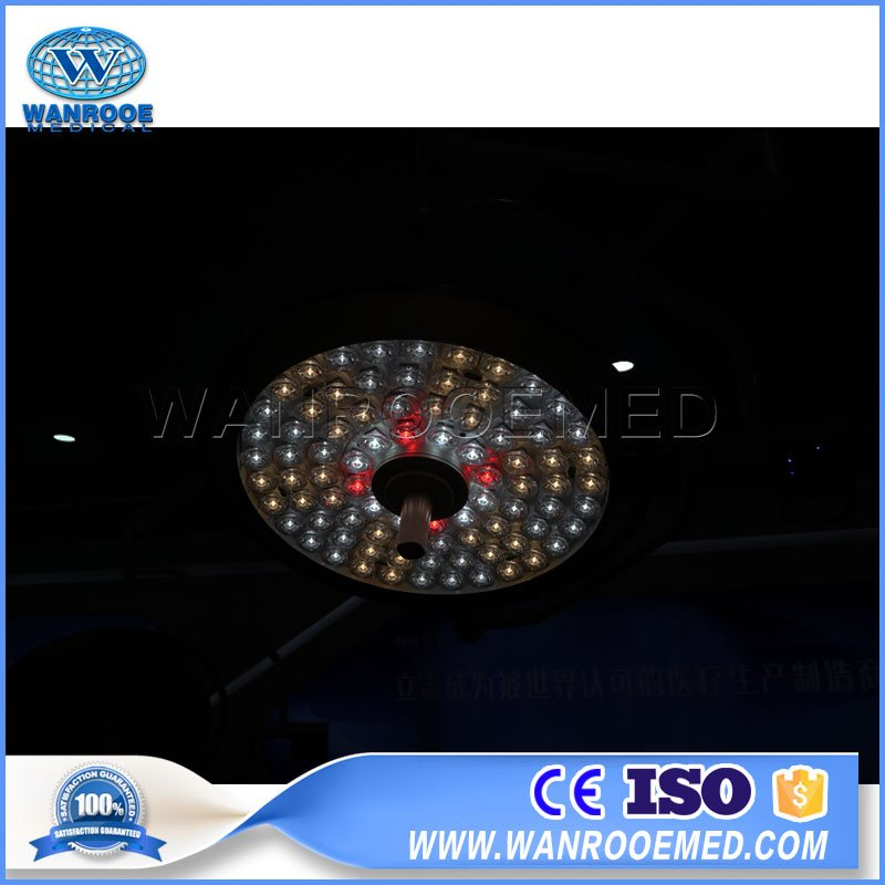 AKL-LED-D78 Series Shodowless LED Surgical Operation Lamp with Ceiling