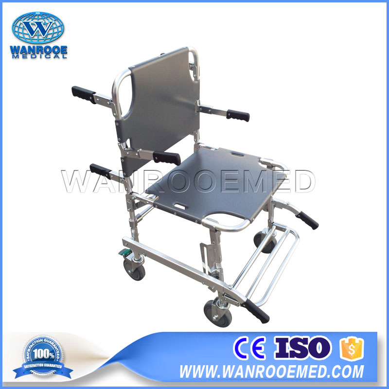 EA-6C Manual Aluminum Alloy Foldable Stair Chair for Evacuation