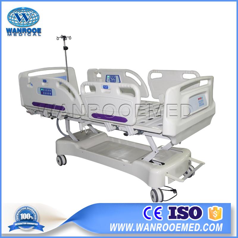 BAE517EC 4 LINAK Motors Adjustable Electric Hospital ICU Patient Bed