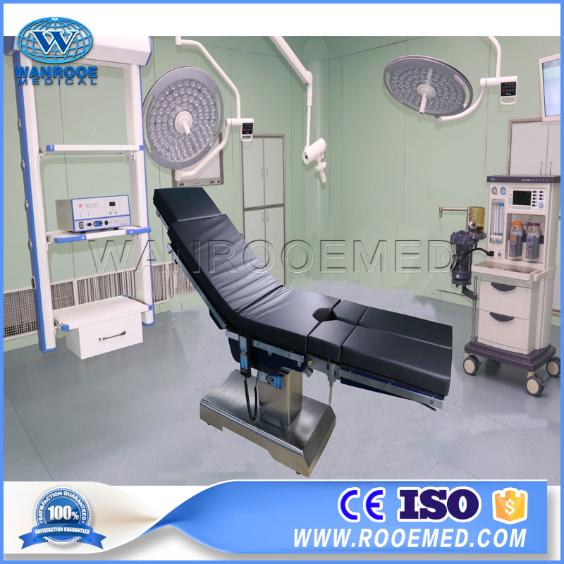 AOT700S Electro Hydraulic Double Control Surgical Table for C-arm Examination