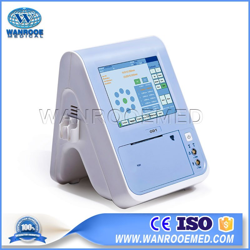 US100 5.7 Inch Hospital Portable Ophthalmic Pachymeter A Scan Ultrasound Scanner