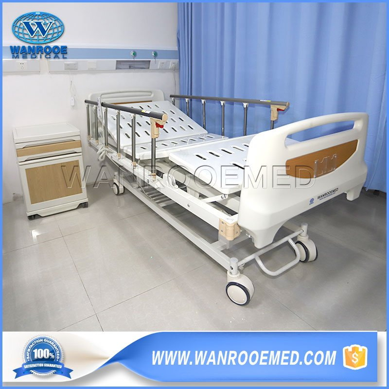 Full Electric Hospital Bed, 3 Functions Hospital Bed, Folding Hospital Bed, Clinic Hospital Bed, ICU Bed