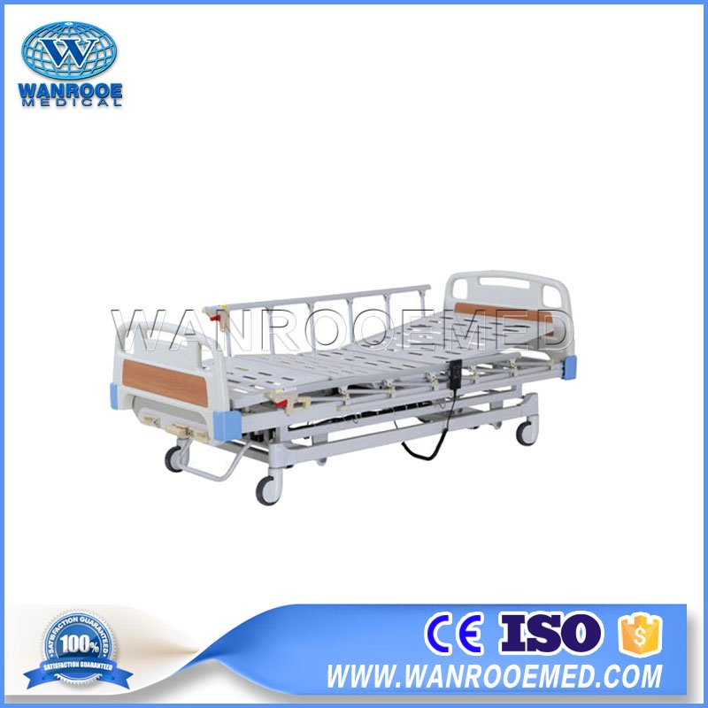 ICU Electric Bed, Electric Hospital Bed, Electric Patient Bed, 3 Cranks Electric Bed, Adjustable Hospital Bed