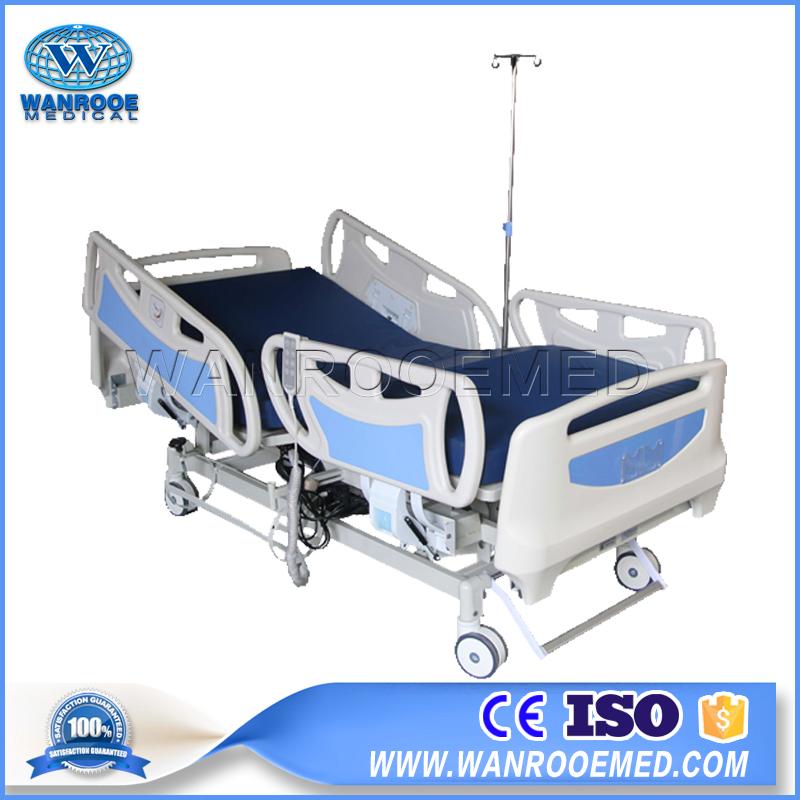 Three Motor Medical Bed, Adjustable Medical Bed, Medical Bed, Electric Medical Bed, Hospital Patient Bed, ICU Patient Bed