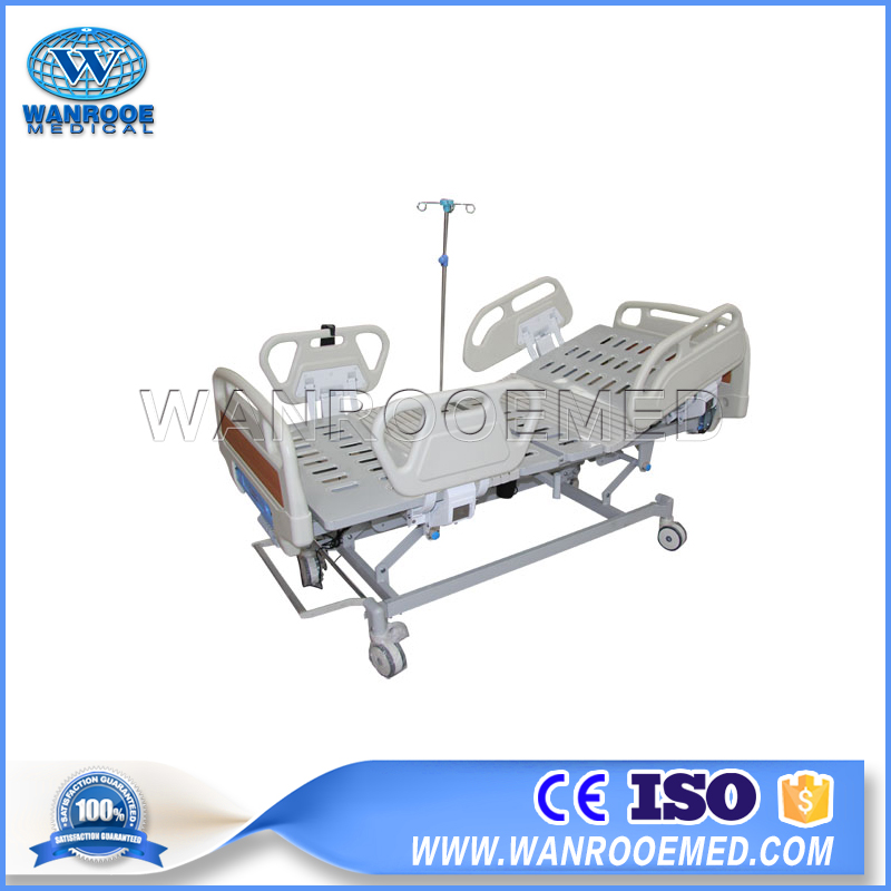 Three Function Medical Bed, Electric Medical Bed, Hospital Bed With Wheels, Electric Hospital Cot, Medical Bed Price