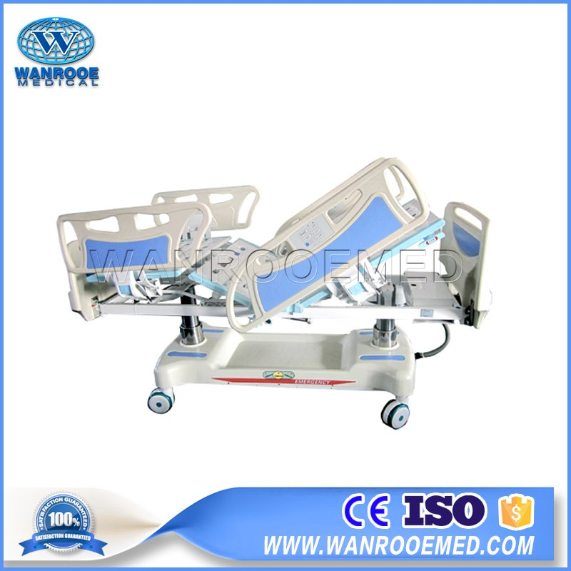 Electric Column Structure, Electric ICU Bed, Electric Hospital Bed, Hospital ICU Bed, Electric Surgical Bed, 5 Function Hospital Bed