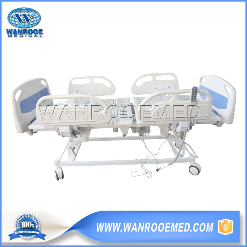 Medical Bed With Central Locking System, Electric Medical Bed, Medical Patient Bed, Adjustable Medical Bed, 5 Functions Medical Bed, Hospital Electric Patient Bed