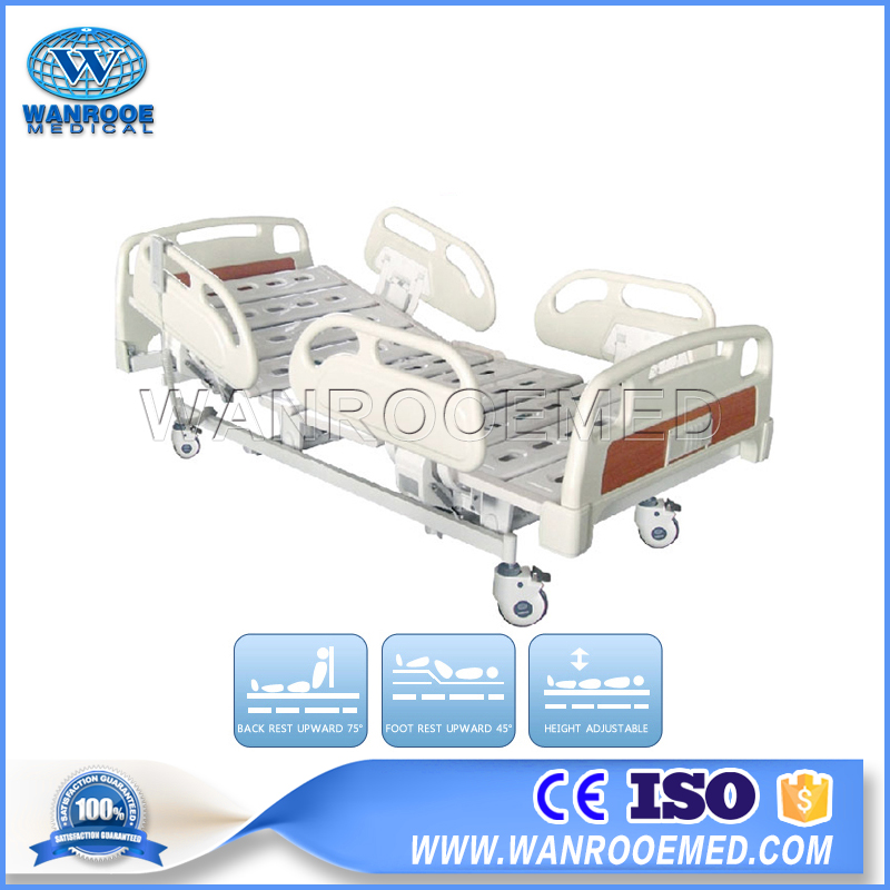 Electric 5 Functions Hospital Bed, Electric ICU Bed, Full Electric Bed, ICU Patient Bed , Medical ICU Bed
