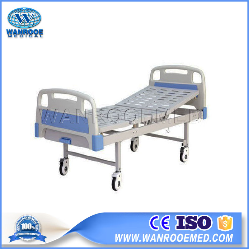 Hospital Bed, Manual Bed, Stainless Steel Bed, Single Crank Bed, One Crank Bed