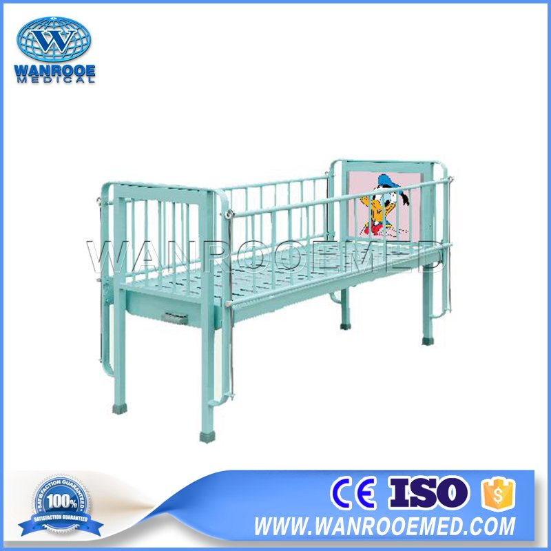 Hospital Children Bed, Single Crank Hospital Bed, Medical Pediatric Bed, Pediatric Bed Price, Hospital Pediatric Bed