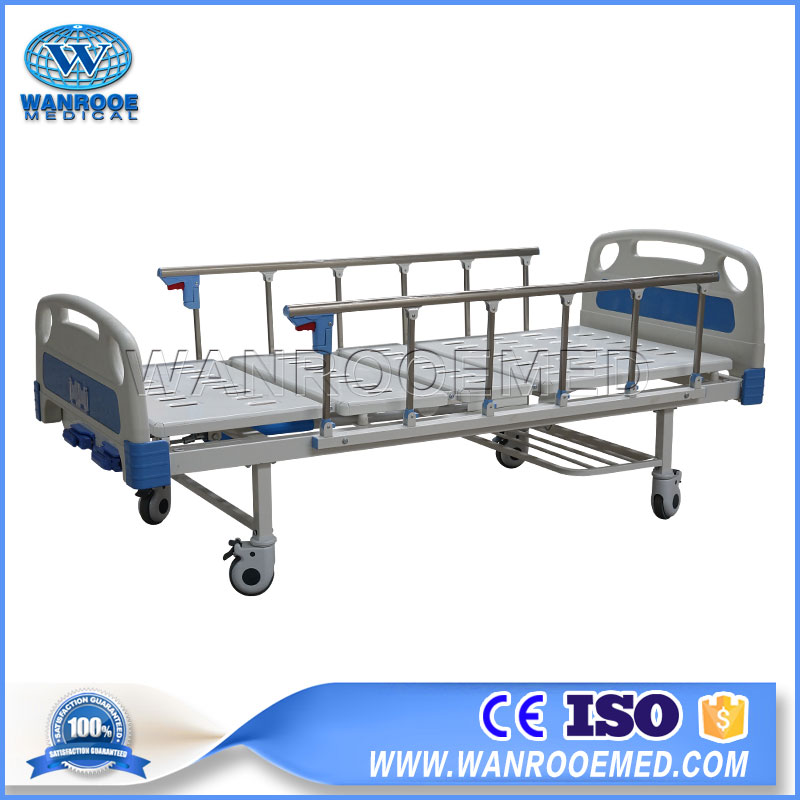 2 Function Manual Bed, Double Crank Hospital Bed, Manual Hospital Bed, 2 Crank Hospital Bed, Manual Patient Bed