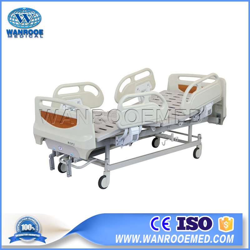 Manual Surgical Bed, Surgical Hospital Bed, 2 Functions Hospital Bed, Manual Hospital Bed, Hospital Care Patient Bed
