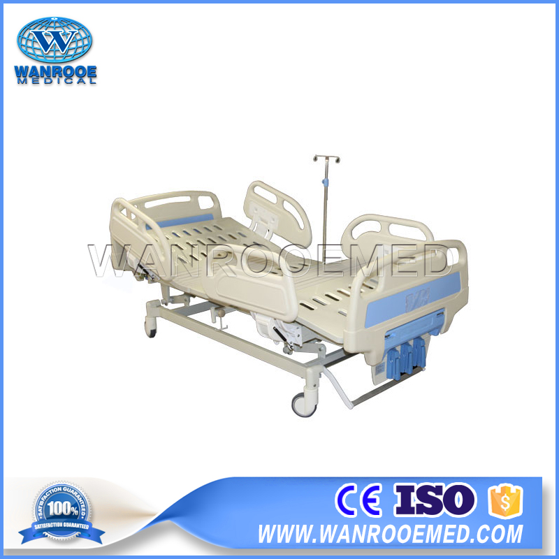Manual Medical Bed, 3 Cranks Hospital Bed, 3 Function Hospital Bed, Manual Hospital Bed, Medical Bed