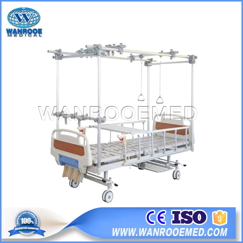 Orthopedic Traction Hospital Bed, Hospital Bed, Hospital Traction Bed, Traction Bed, Orthopedic Bed
