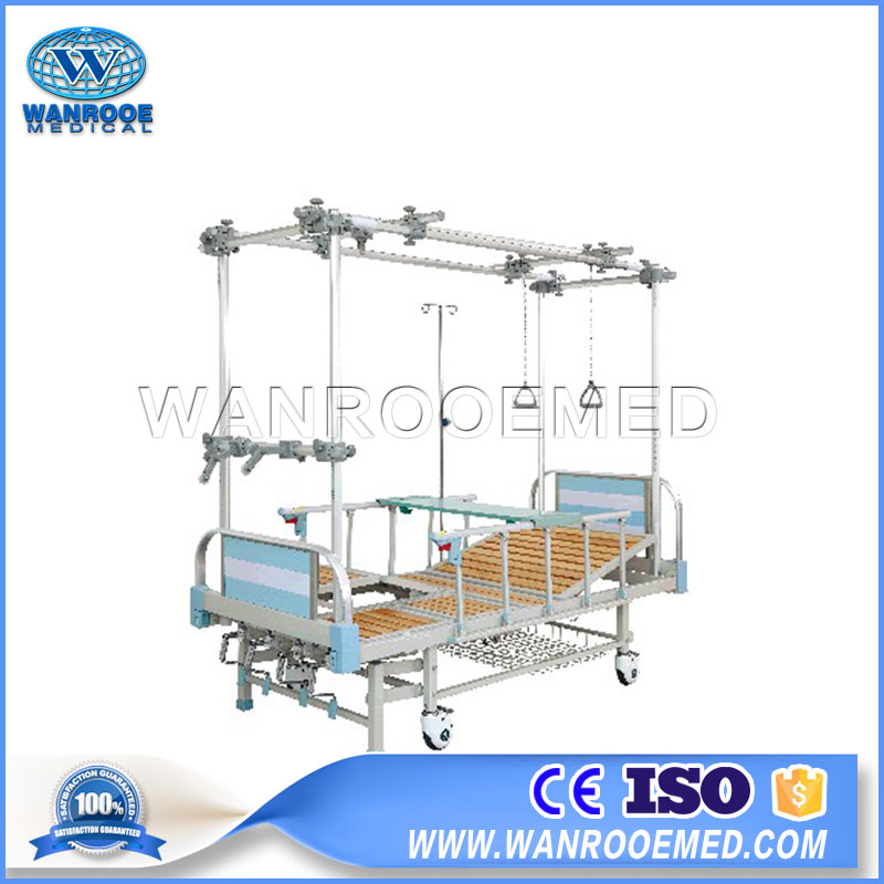 Therapy Traction Bed, Traction Bed, Hospital Orthopedic Bed, Medical Orthopedic Bed, Traction Orthopedic Bed