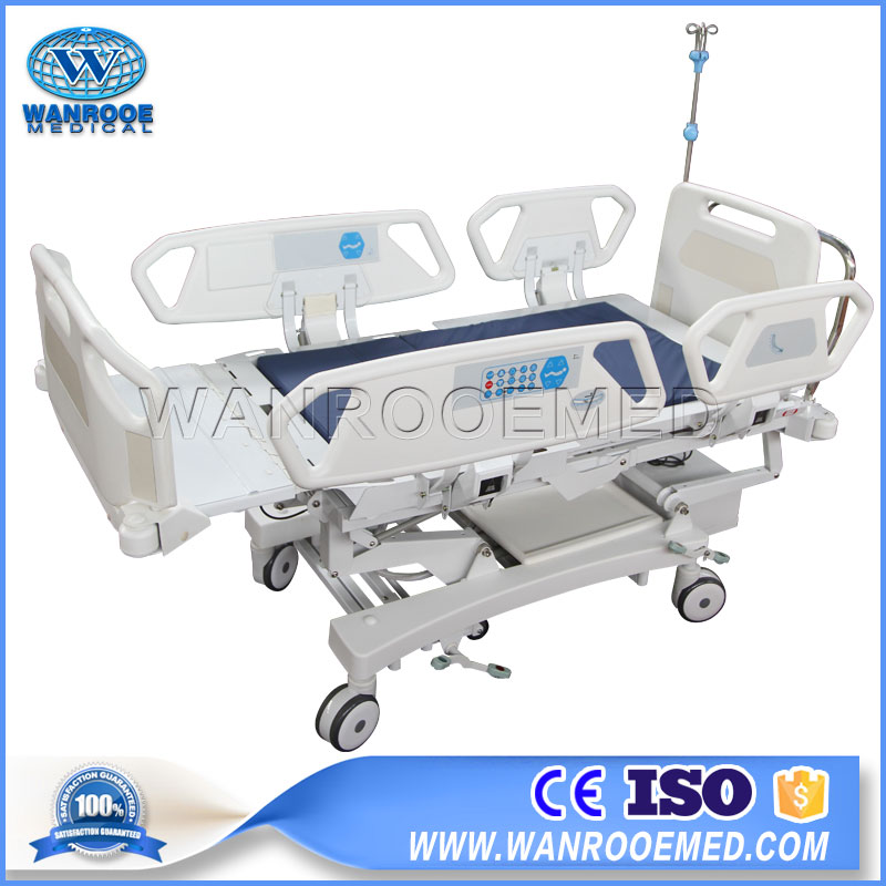 8 Function Hospital Bed, Electric Hospital Chair Bed, Hospital Chair Bed, Electric ICU Bed, Adjustable ICU Electric Bed