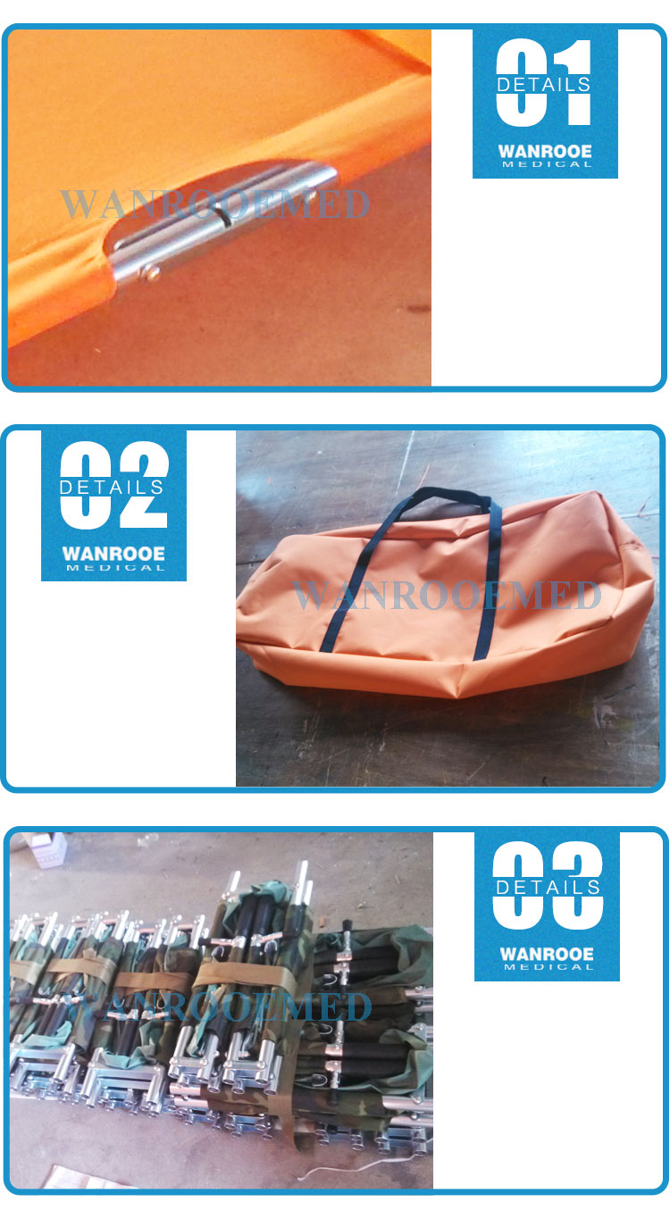 First Aid Emergency Stretcher, Medical Stretcher, Emergency Stretcher, Portable Emergency Stretcher, Folding Emergency Stretcher
