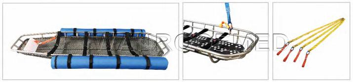 Stainless Steel Basket Stretcher, Basket Stretcher, Rescue Basket Stretcher, Helicopter Basket Stretcher