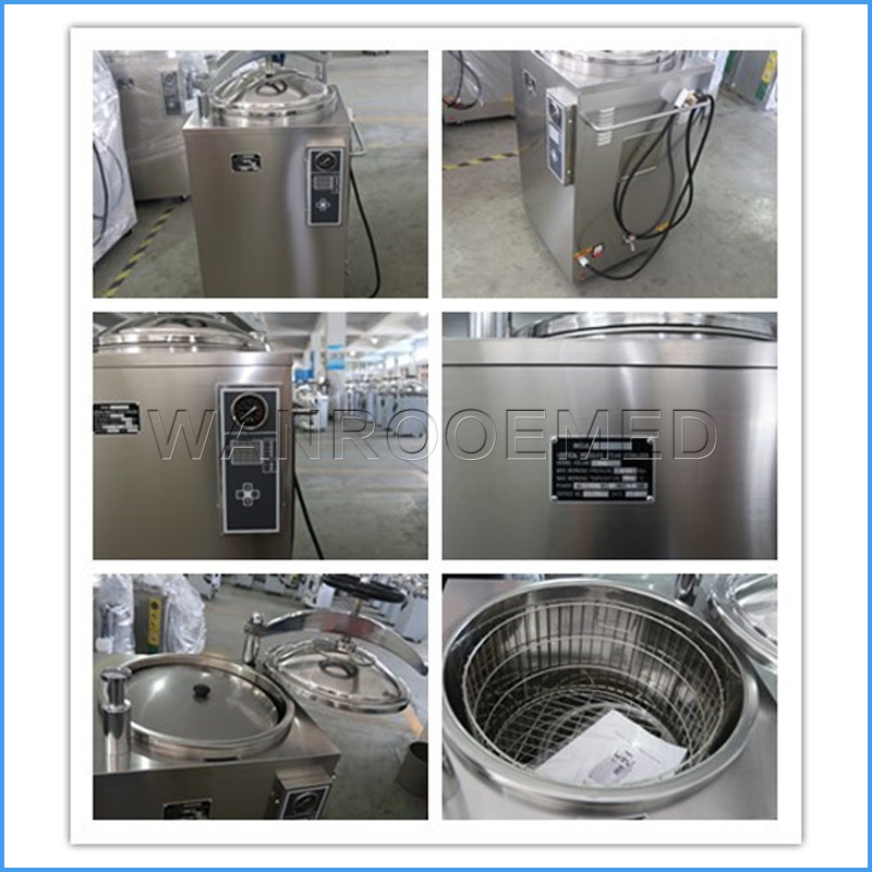 Sterilizer For Operating Room, Autoclave Sterilizer, Steam Autoclave Sterilizer, Hospital Pressure Sterilizer