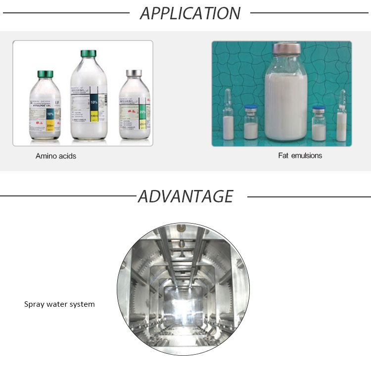 Medical Water Sterilizer, Hospital Autoclave, Lab Rotary Water Sterilizer, Water Sterilizer, Autoclave