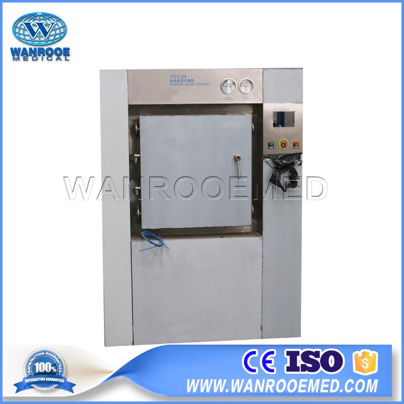 PLC Control Steam Sterilizer, Hospital Automatic Steam Sterilizer, Automatic Steam Sterilizer