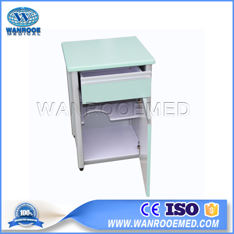 BC010C/D Hospital Ward Cabinet Beside Cabinet Beside Locker With Towel Holder