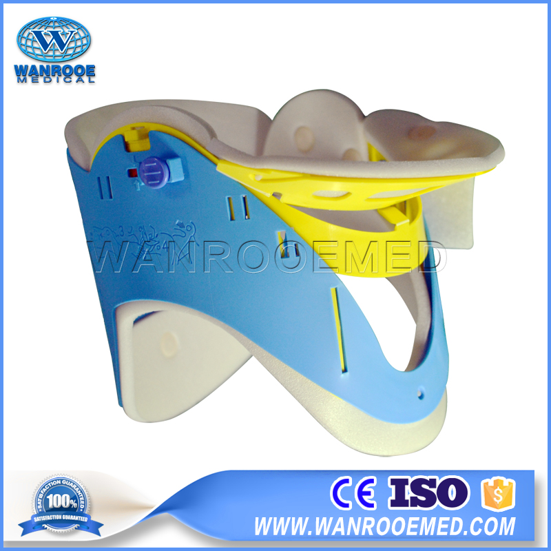 EB-2B Plastic Adjustable Medical First-aid Devices Neck Traction Brace Cervical Collar