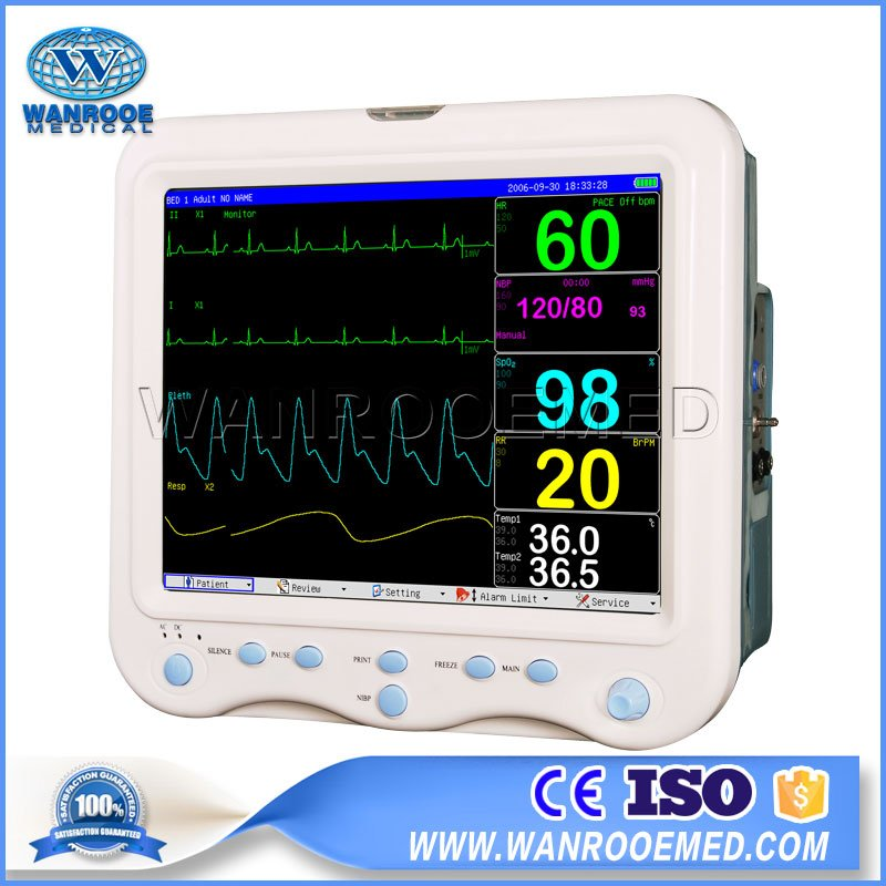 Patient Monitor, Multi-Parameter Patient Monitor, Hospital Patient Monitor, Portable Patient Monitor, Emergency Patient Monitor