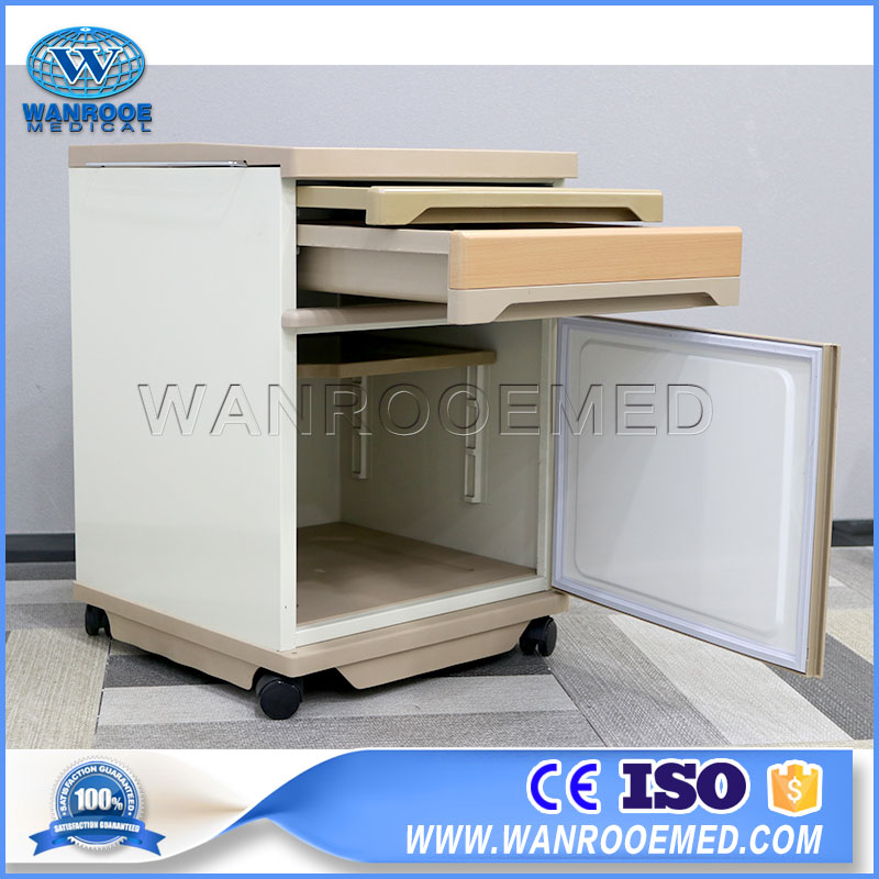 Hospital Beside Cabinet, Portable Beside Locker, Beside Locker, Medical Beside Cabinet, Bedside Cabinet
