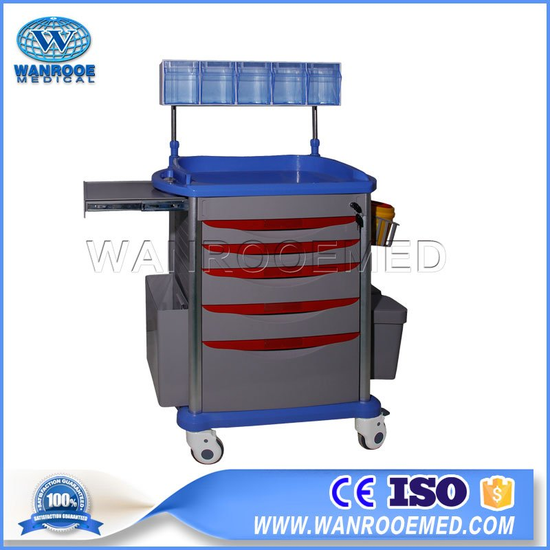 71 Series Mobile Emergency Crash ABS Hospital Medical Trolley Cart