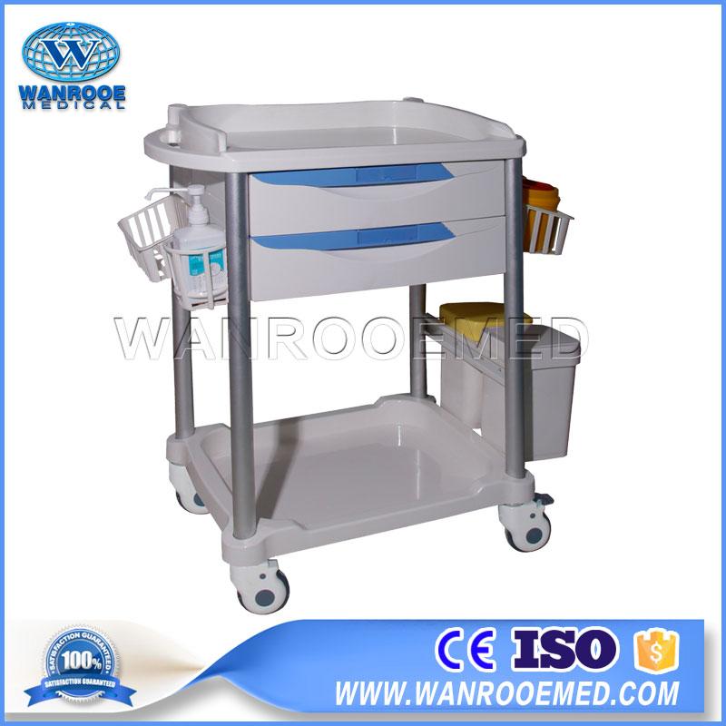 76 Series Hospital Nursing Medical ABS Emergency Trolley