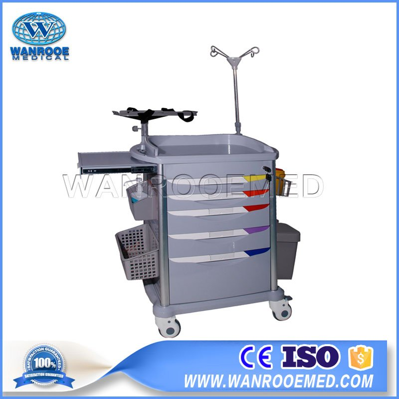 Anesthesia Trolley Cart,ABS Cart,Abs Hospital Emergency Cart ,Anesthesia Cart,Crash Cart