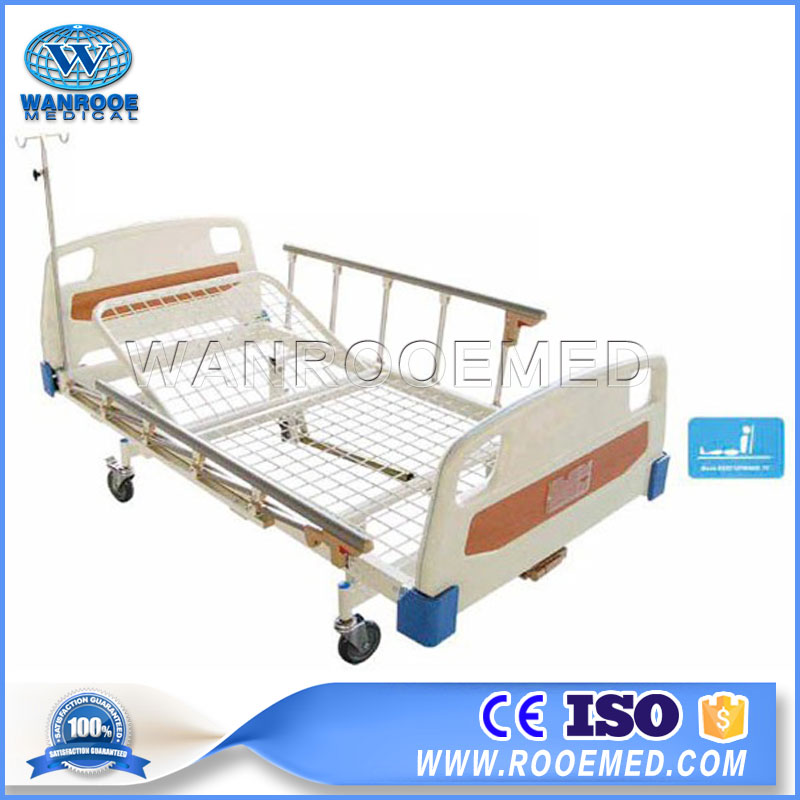 Single Crank Bed,Manual Bed,Patient Bed,Medical Manual Bed,Hospital Manual Bed