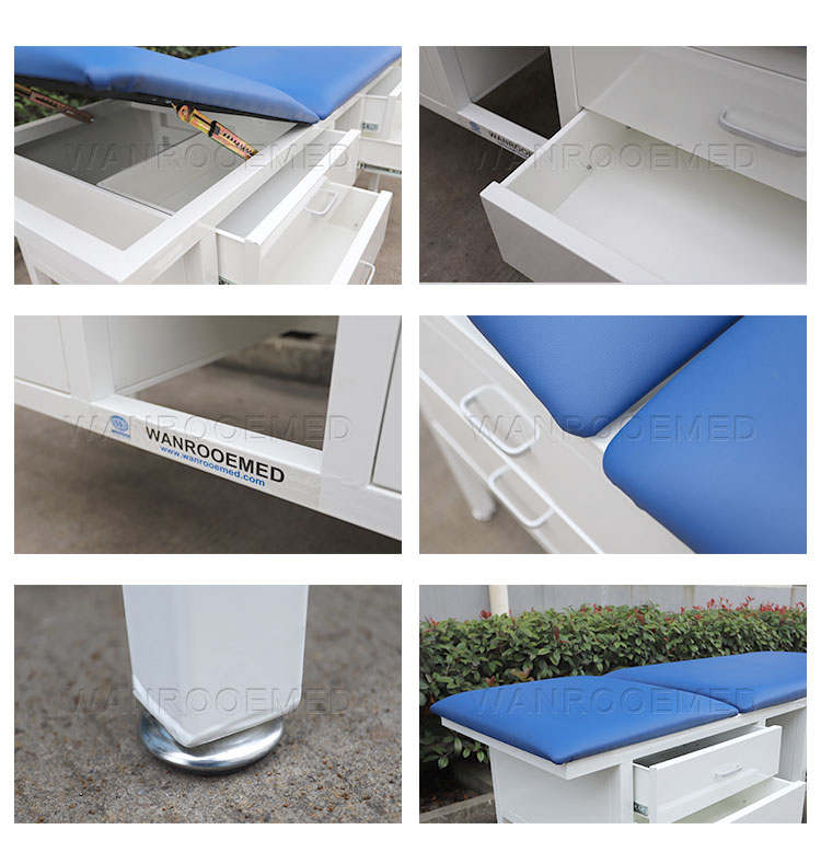 Examination Couch, Exam Table, Medical Table, Hospital Table, Hospital Examination Couch
