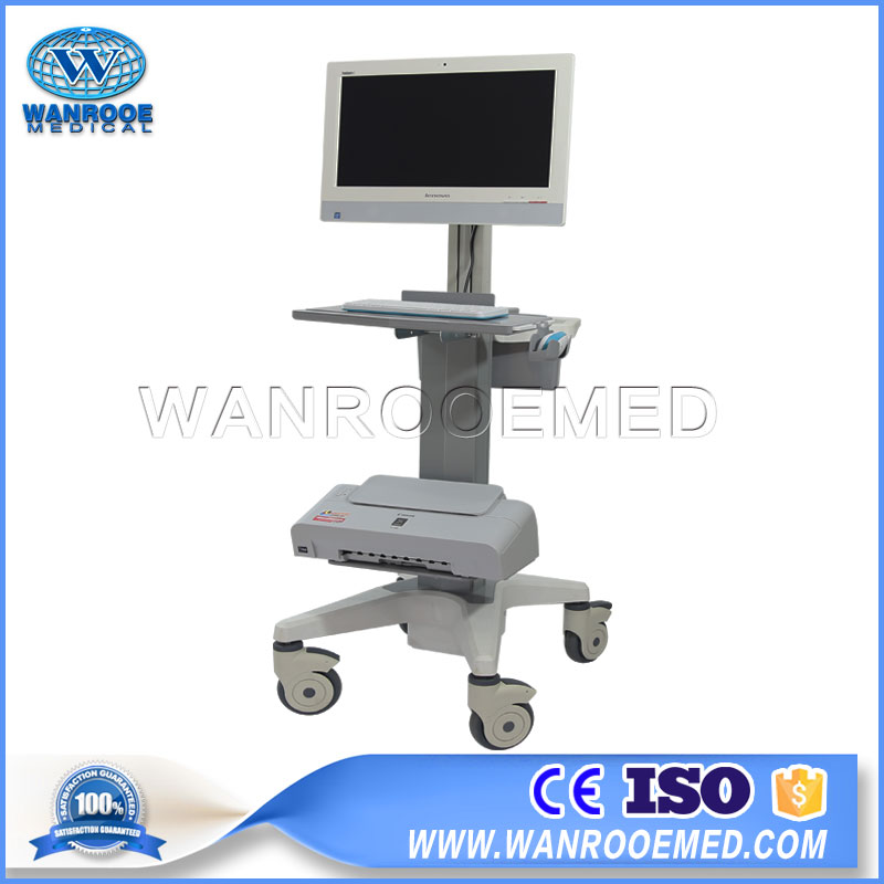 Mobile Hospital Trolley, Medical Cart, All-In-One Computer Cart, Medical All-In-One Computer Cart, Mobile Trolley
