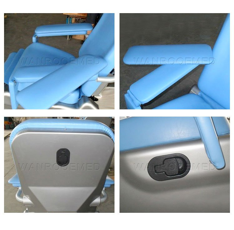 Patient Blood Donor Chair, Blood Draw Chair, Blood Transfusion Chair, Medical Blood Donation Chair, Manual Blood Donation Chair