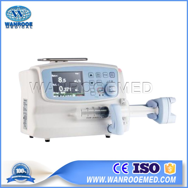 WRSP-605T Hospital Equipment Portable Single Channel Peristaltic Syringe Pump Price