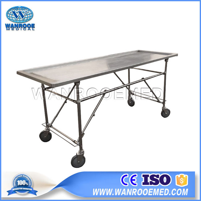 Stainless Steel Autopsy Table, Embalming Table, Autopsy Table, Funeral Embalming Table, Autopsy Operatig Table