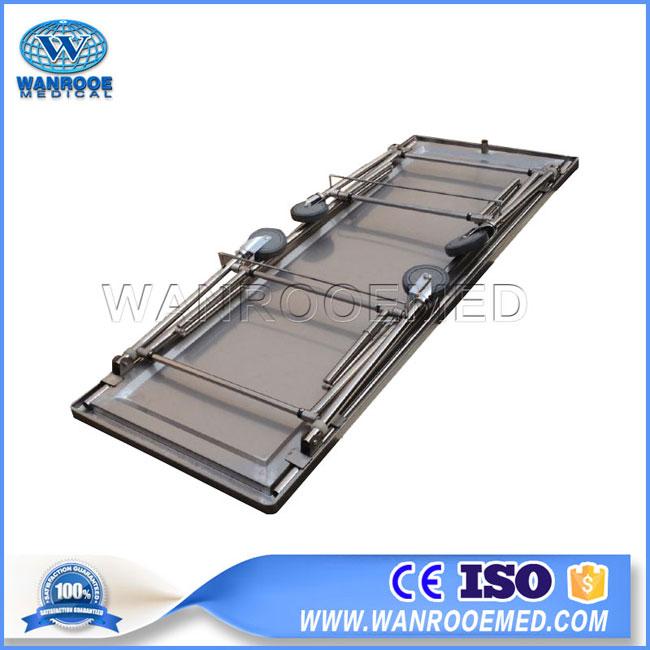 GA204 Funeral Embalming Stainless Steel Autopsy Operatig Table