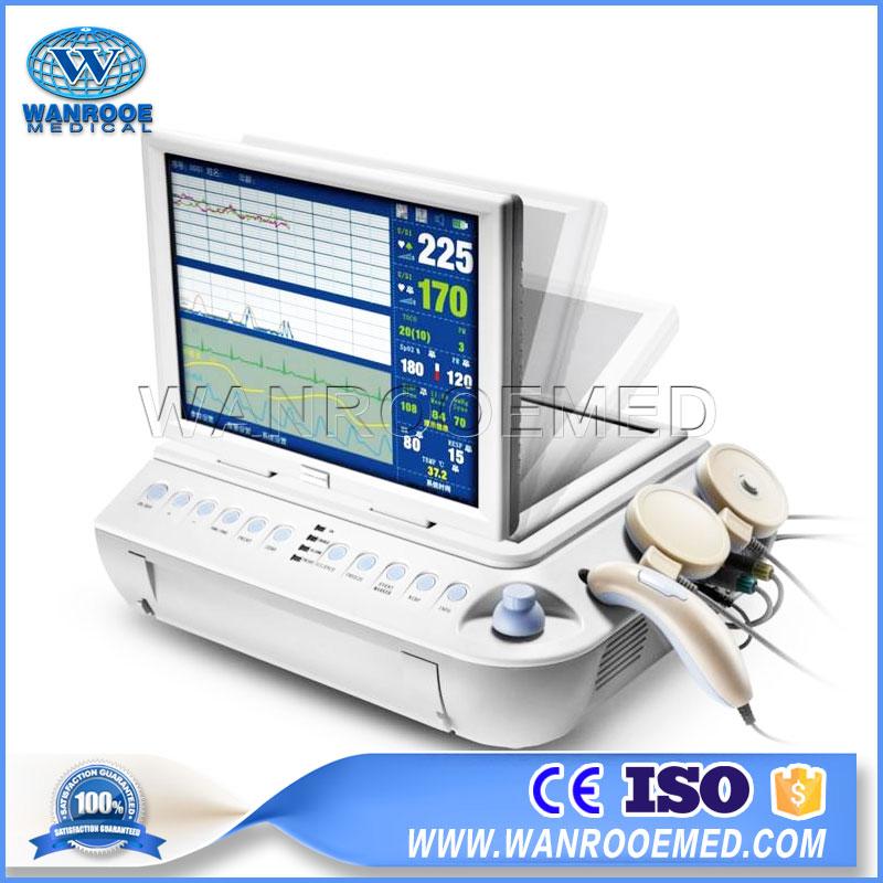 Fetal Monitor, CTG Fetal Monitor, Portable Fetal Monitor, Fetal Heart Monitor, Electric Fetal Monitoring, Fetal Heart Rate Monitor, Internal Fetal Heart Monitor