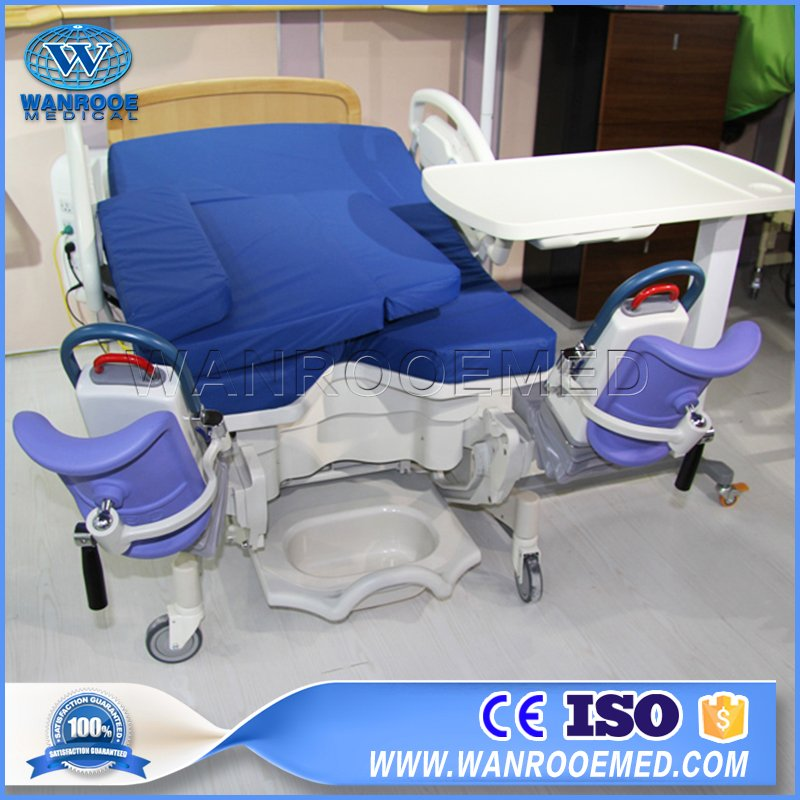 ALDR100D Gynecological Bed Electric Hospital Operating Room Table Delivery Table