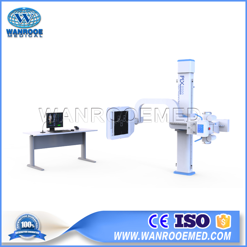 PLX8500C Digital X-ray Radiography System Hospital X-Ray Equipment with Flat Panel Detector