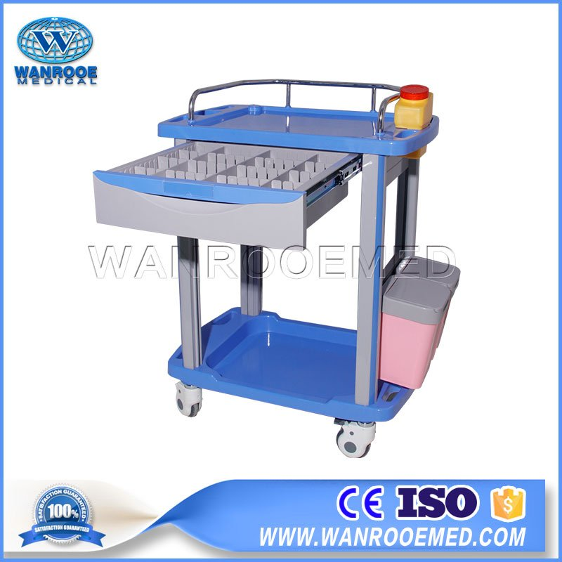 BCT-01 Series Hospital Medical Clinic Clinical Trolley Clinical Cart