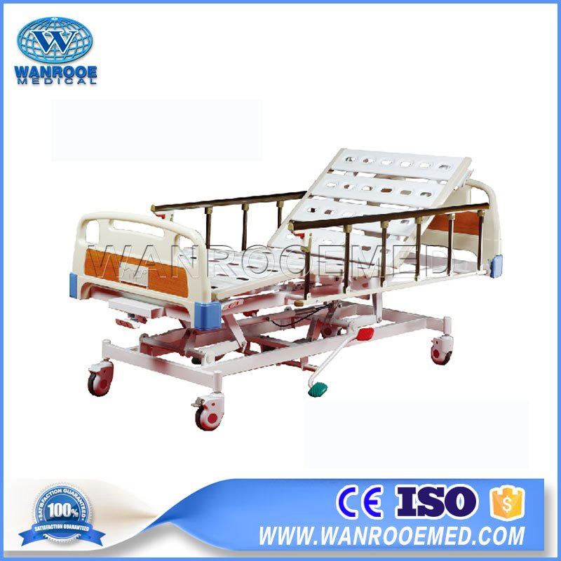Patient Bed,Hospital Bed,Medical Bed,5 Functions Bed,Hydraulic Patient Bed