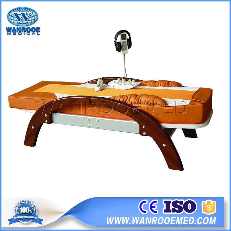 DB101 Medical Electric Infrared Heating Jade Roller Massage Bed