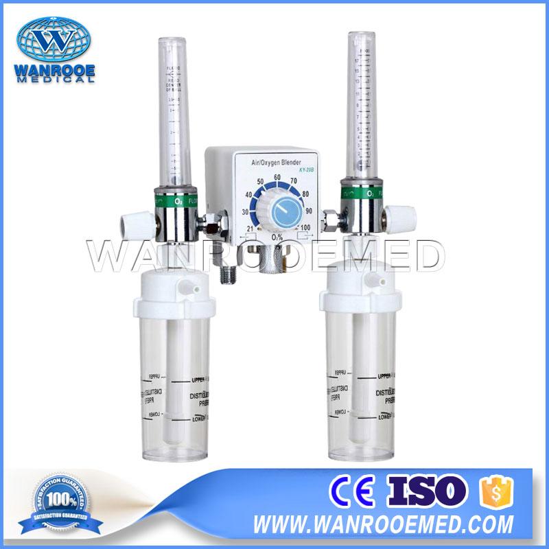 Air Oxygen Blender, Low Flow Air Oxygen Blender, High Flow Air Oxygen Blender, Neonate Air Oxygen Blender